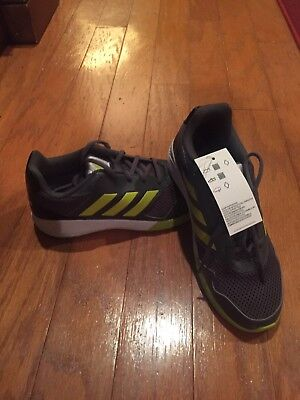 Adidas AltaRun K Youth Kids Boys Girls Gray Green Neon Sneaker Shoes Alta  Run aa7b45cb3dc