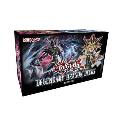 153pcs TCG English Cards for YuGiOh Legendary Dragon Decks Party Board Game