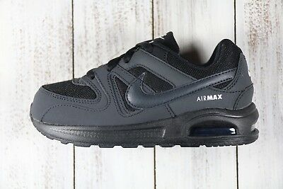 best service 89271 07b70 Nike Air Max Command Flex (TD) Black Anthracite 844348-002 Toddler Shoes