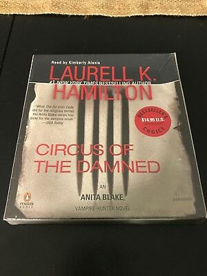Circus Of The Damned A Vampire Hunter Novel Audiobook On CD By Laurel Hamilton