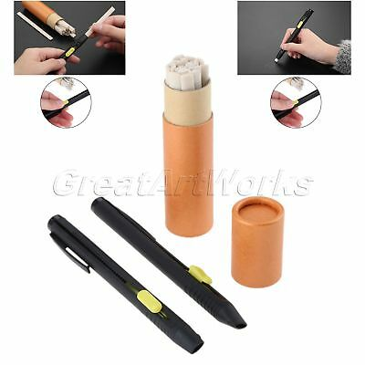 1Set Tailors Chalk Pen Invisible Marking Fabric Leather Cloth Pencil Sewing Tool