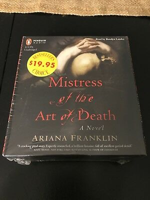 Mistress of the Art of Death by Ariana Franklin (2007, CD)
