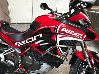 Ducati Multistrada Decals Stickers Graphic Kit Corse Red 2015 2019