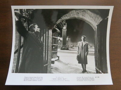 Odd Man Out James Mason Kathleen Ryan Carol Reed Belfast Noir 1947 lobby card