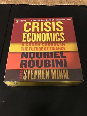 Crisis Economics A Cradh Course In The Future Of Finance Audiobook On CD