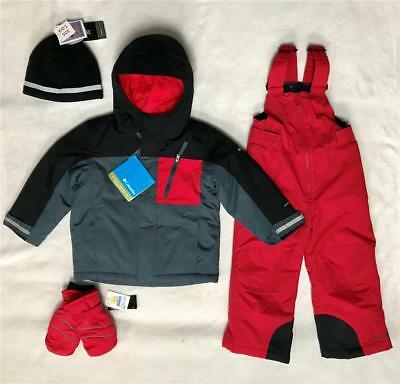 2539fcb80 COLUMBIA JACKET SNOWSUIT Toddler Girls 3T Frosty Slope Set Outgrow ...
