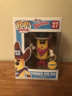 Twinkie The Kid CHASE Funko POP! Ad Icons Limited Edition Hostess Vinyl #27