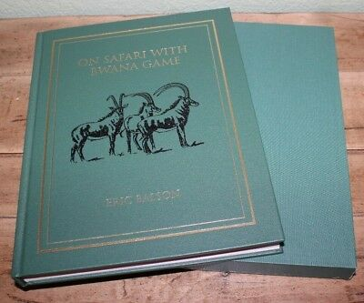 """On Safari with Bwana Game"" by Eric Balson Signed Limited Edition Hardcover Book"