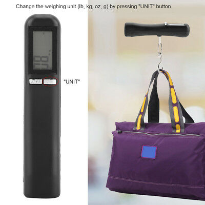 Portable Travel 10g / 50kg LCD Digital Hanging Luggage Scale Electronic Weight