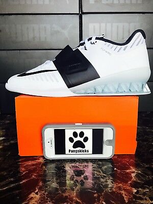 low priced d02b6 a33b4 Nike Romaleos 3 Weightlifting 878557-100 Women s Size 15   Men s 13.5