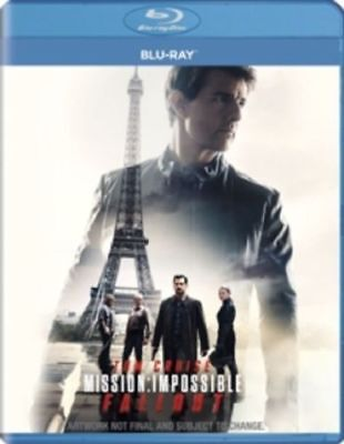 Mission: Impossible fallout (2D)+Mile 22 (2D)Blu-ray 2018 2in1 offer price***