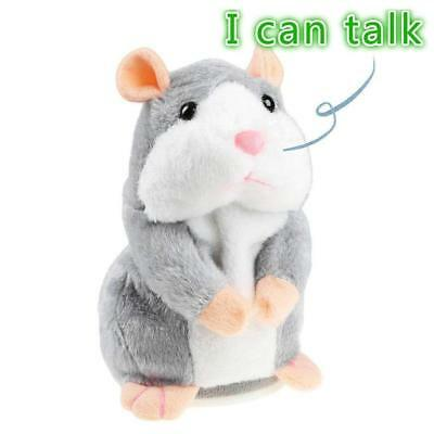 Mimicry Pet Talking Hamster Repeats What You Say Plush Animal Toy Electronic