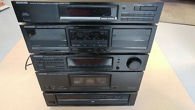 Vintage Kenwood 5 Component Stereo System - 1991 - Excellent Condition