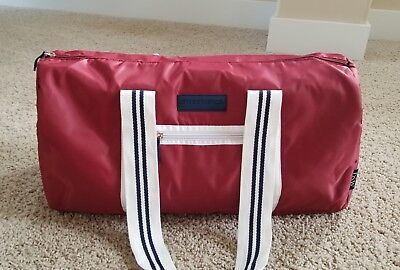 85fbd1fcfa NEW SKECHERS GYM BAG Red/Navy/White DUFFEL WORKOUT TOTE Travel Weekender DSW
