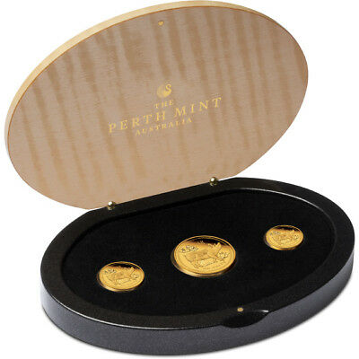 2019 Year Of The Pig Gold Three-Coin Set