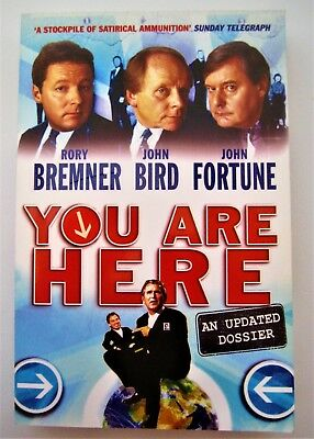 You Are Here - Rory Bremner - Phoenix - SIGNED - New - Paperback