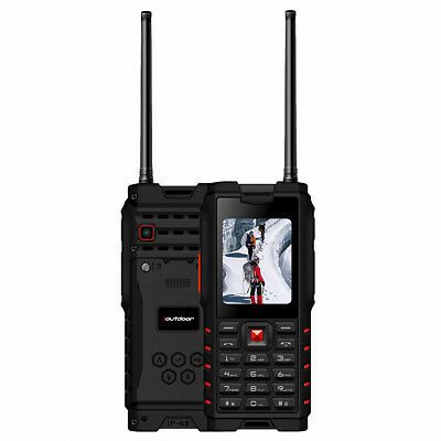 Ioutdoor T 2 Feature Mobile Phone IP68 2 Way Radio Walkie Talkie Intercom X8U5