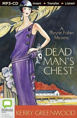 Kerry GREENWOOD / [Phryne Fisher 18] DEAD MAN'S CHEST   [ Audiobook ]