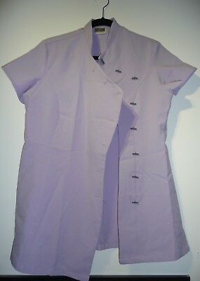 Beauty Therapist Tunic in Lavender by Simon Jersey - Size 14