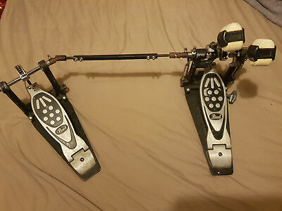 Pearl bass drum double kick pedal foot pedal