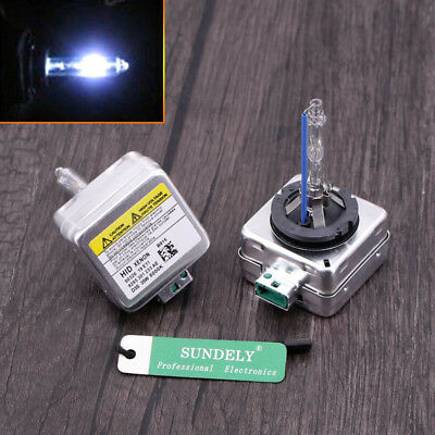 Uk D3s 8000k 12v Xenon Bulbs Replacement Hid Oem Fit Audi A4 B8 S
