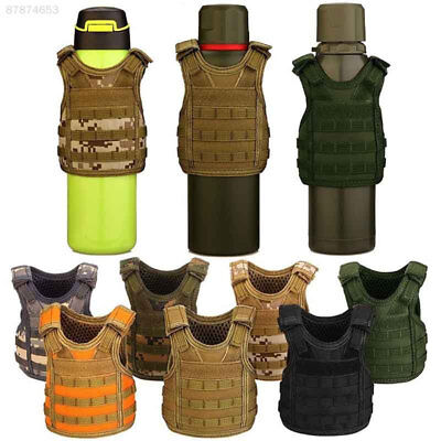 Tactical Military Beer Bottle Mini Molle Vest Cover Wine Can Vest Cooler Layer
