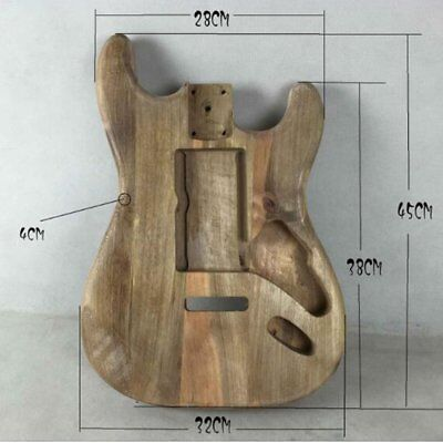 Unfinished DIY Guitar Body Maple Body For Fender ST Style AG