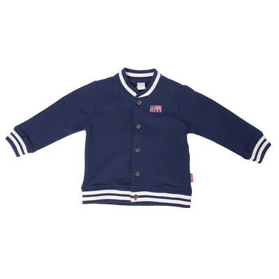 NAME IT Sweat Bomber Jacket Size 6-9M / 74CM USA Flag Patch Button Front