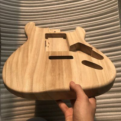 Unfinished DIY Guitar Body Maple Body For Fender ST Style AZ