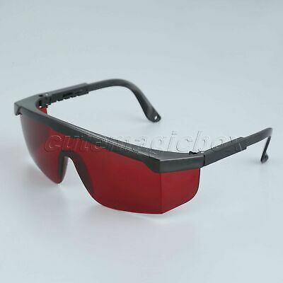 Protective From Glare Dental Lab PE Red Dental Safety Glasses Protection Goggles