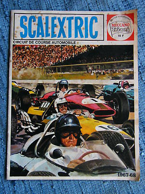 SCALEXTRIC Slot car Katalog 1967-68 1:32 Mecano Triang