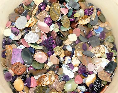 300Cts. Top Quality Mix Wholesale Lot Natural Loose Gemstone Cabochon 4715