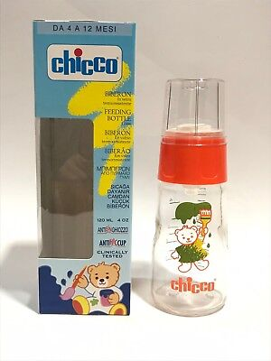 Vintage chicco babyflasche, artsana old stock, glass baby bottle, feeding bottle