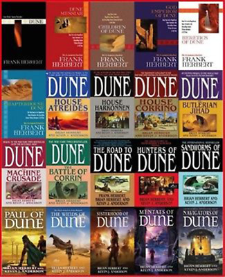 Dune Collection 20 Audiobooks (Mp3, Download)