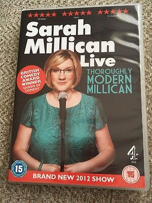 Sarah Millican Live Thoroughly Modern Millican Dvd