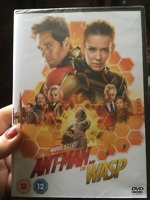 Ant-man And The Wasp DVD (2018) BRAND NEW AND SEALED FREE UK POST MARVEL STUDIOS