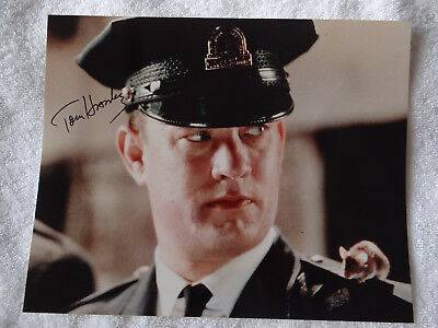 Tom Hanks The Green Mile Authentic Signed 8x10 Photo Autographed / COA