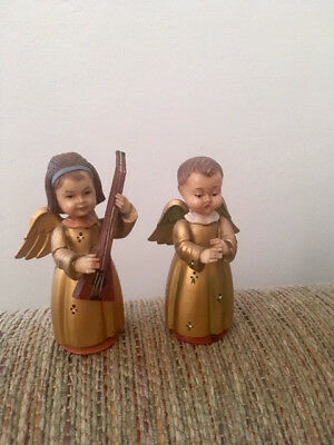 Lot of Two Toriart Italy Vintage Angels