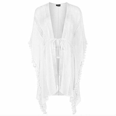 White Bathing Suit Coverup from TopShop
