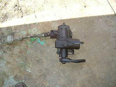 Land Rover Discovery 2 Power Steering Gear Box W. Steering Shaft OEM 99-04