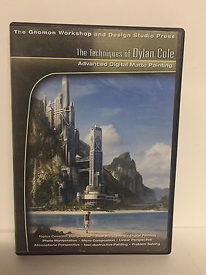 RARE The Techniques of Dylan Cole Advanced Digital Matte Painting 2006 DVD-ROM