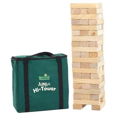 Garden Games Jumbo Hi-Tower in a Bag, builds from 0.6metres upto 1.5metres...