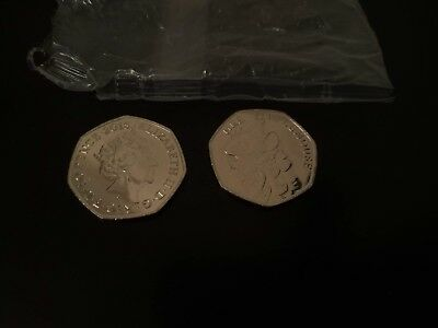 Mrs Tittlemouse - Beatrix Potter 50p Fifty Pence coin 2018 - From Sealed bag