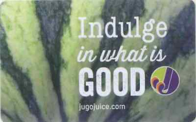 Gift Card: Jugo Juice (Canada) Watermelon - Indulge in what is GOOD, $0