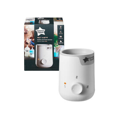 Tommee Tippee Closer to Nature Electric Baby Food and Bottle Warmer Quick New