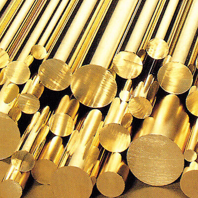 Brass Round Bar / Rod Modelmaking Various Sizes 3mm - 120mm cheapest around