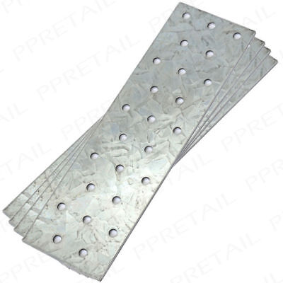 300mm Long x 100mm Wide HEAVY DUTY FLAT BRACKET - PACK of 5