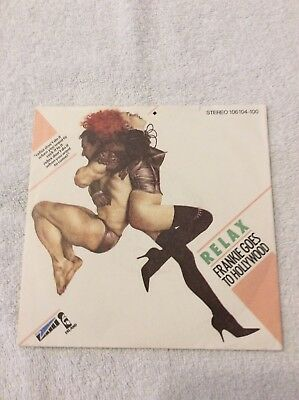 "Frankie Goes To Hollywood - Relax 7"" Single"