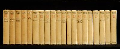 THE WORKS OF JOSEPH CONRAD ~ Complete in 20 Volumes ~ Signed By Author ~ 1921