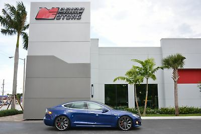 2016 Model S P90D 2016 MODEL S P90D - ONLY 13K MILES - AUTOPILOT - NEXT GENERATION SEATS